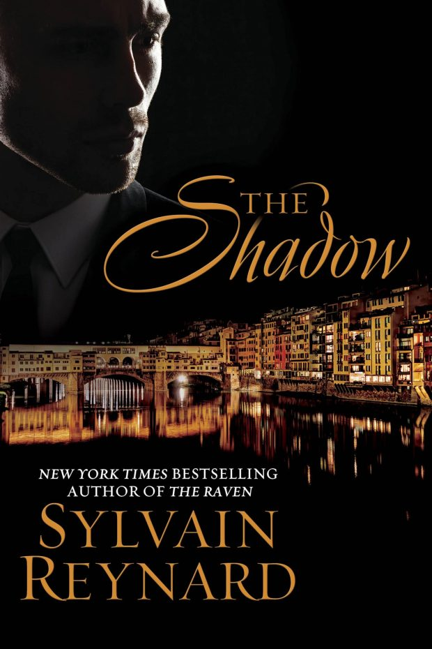 Photo of the cover of The Shadow, the next release in the Florentine Series by Sylvain Reynard