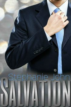 Photo of the cover of Salvation, a contemporary romance novel by Stephanie John