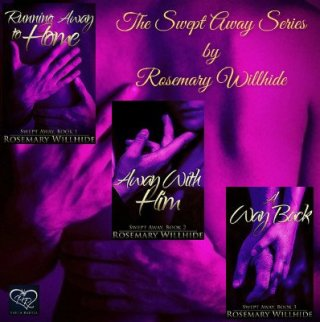 Promo poster for the Swept Away Series by Rosemary Willhide