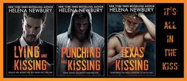 Kissing books banner
