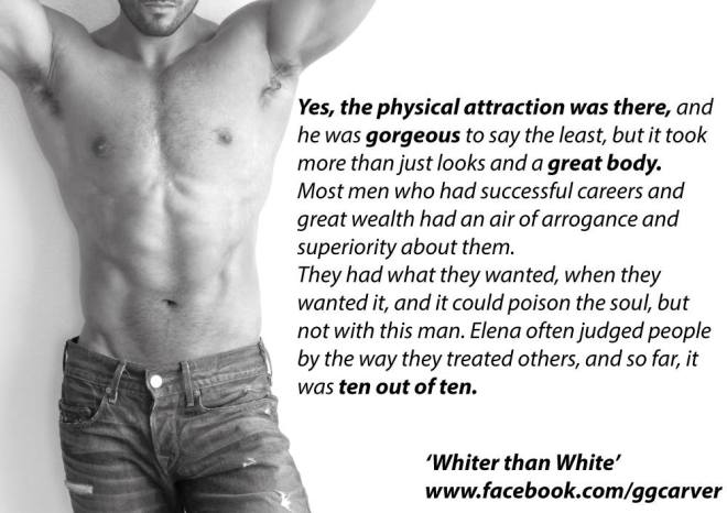Photo Teaser for Whiter Than White by author G G Carver