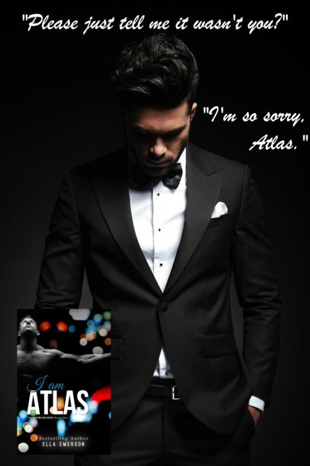 Photo teaser with a quote from I Am Atlas, by Ella Emerson
