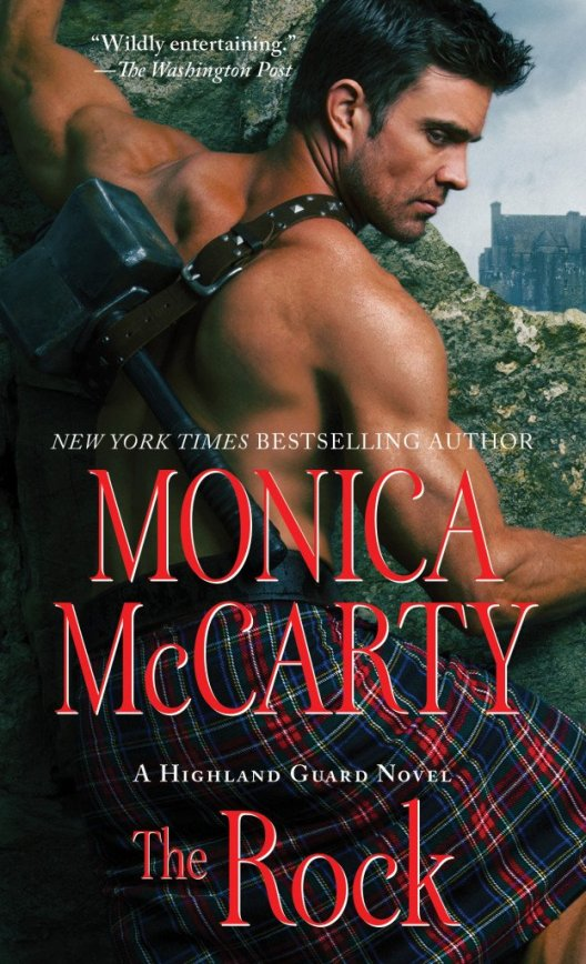 Book Cover - The Rock, by Monica McCarty