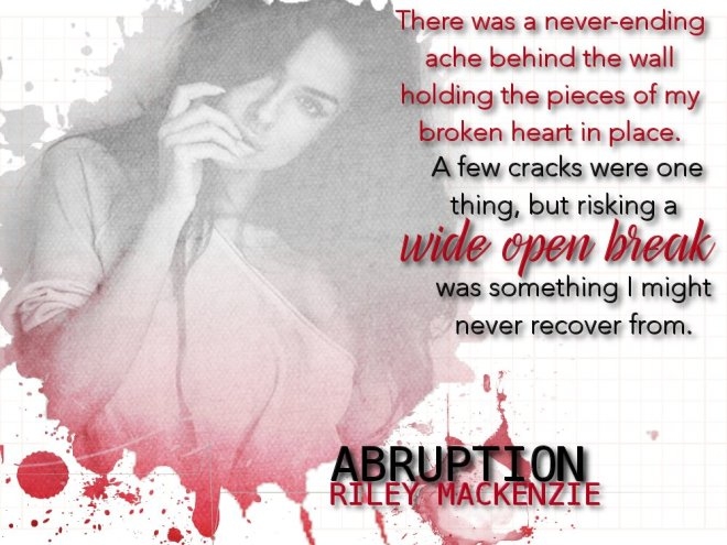 Abruption Photo Quote