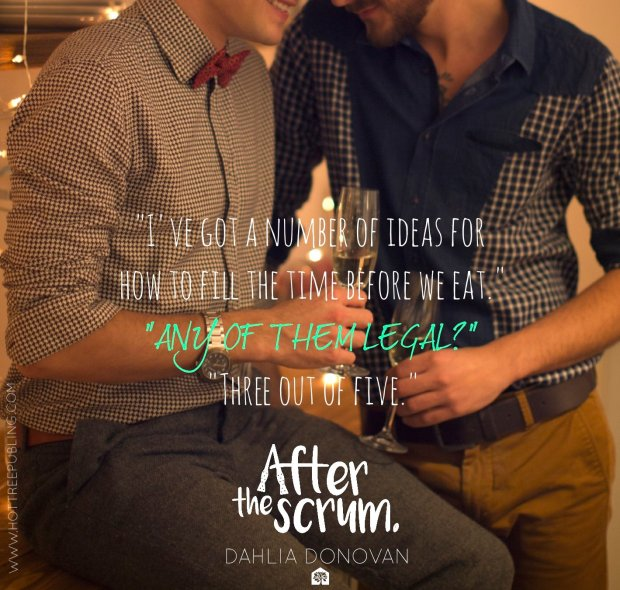 After the Scrum - teaser quote and photo