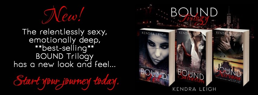 Banner Ad for the Bound Trilogy, by Kendra Leigh