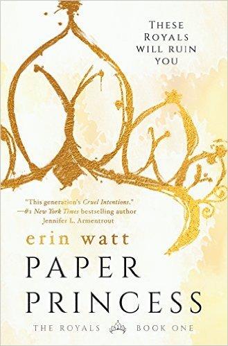 Cover of Paper Princess, by Erin Watt