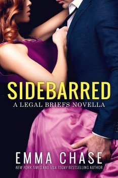 Book Cover Photo-Sidebarred, by Emma Chase