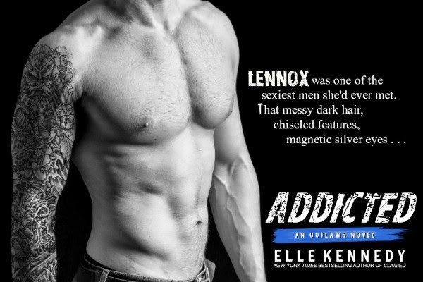 Teaser photo and quote from Addicted, by Elle Kennedy