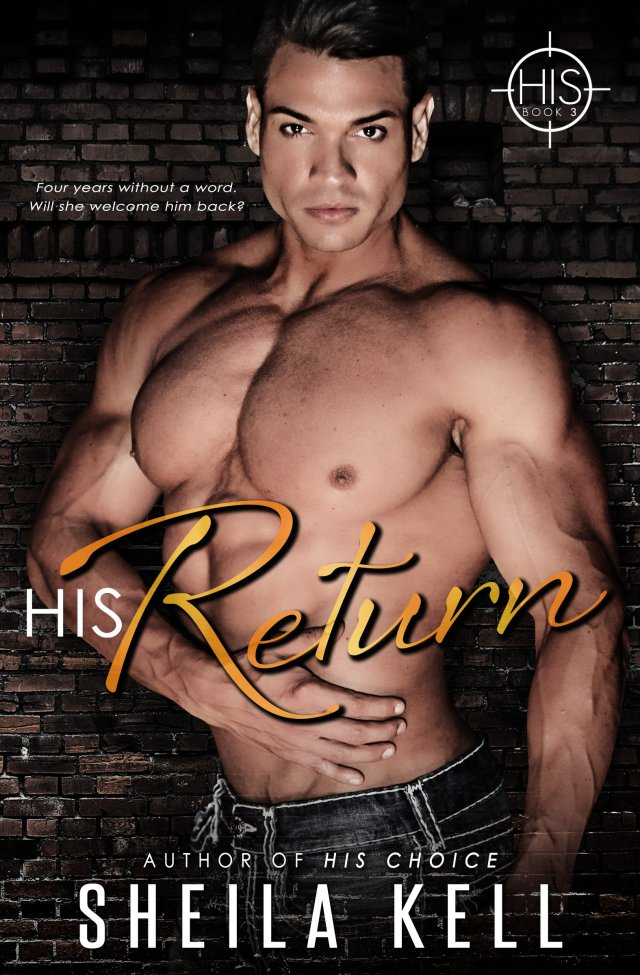 Book Cover, HIS Return by Sheila Kell