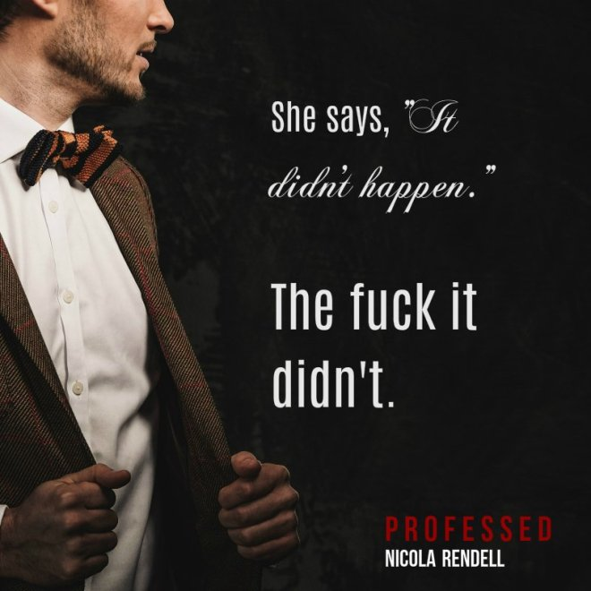 Professed-Quote and Photo Teaser