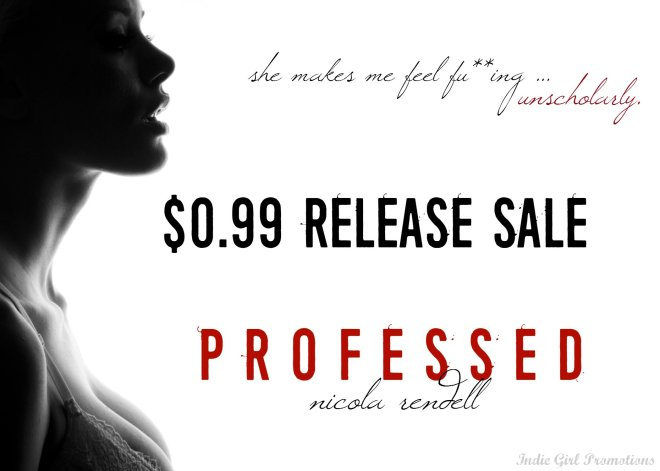 Sale Ad for Professed, by Nicola Rendell