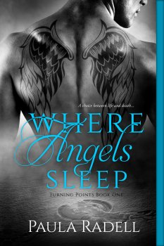 Where Angels Sleep, one of two books by Paula Radell