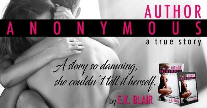Release Day Banner Ad for Author Anonymous
