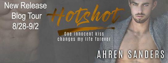 Hotshot, by Ahren Sanders, Blog Tour Banner Ad