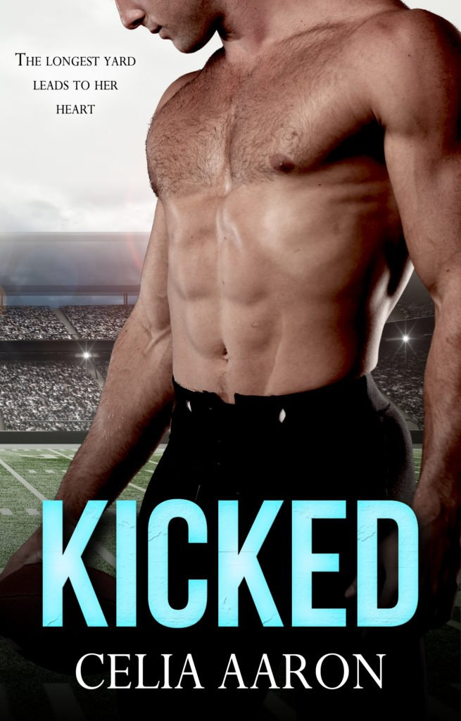 Book Cover, Kicked by Celia Aaron