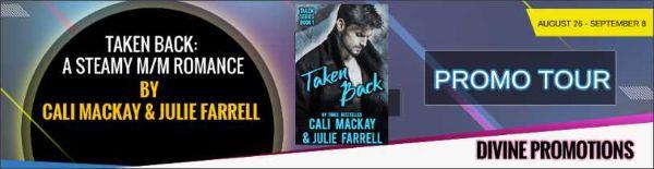 Blog Tour Banner Ad: Taken Back, by Julie Farrell & Cali McKay