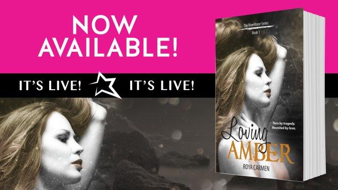 LIVE banner ad for Loving Amber, by Roya Carmen