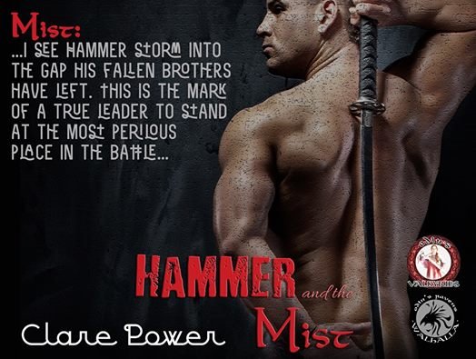 Teaser for Hammer and the Mist, by Clare Power