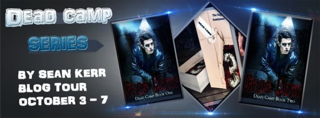 Book Tour Banner for the Dead Camp Series