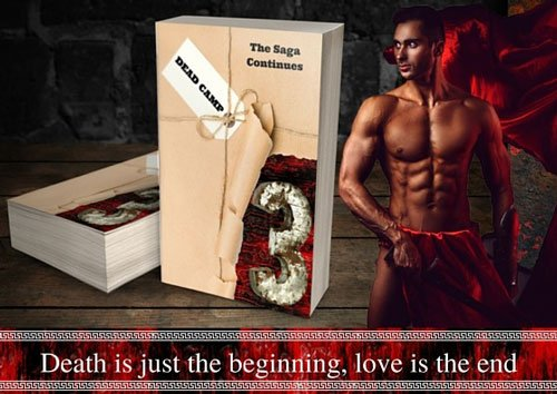 """Promotional Banner for Dead Camp Book 3, """"Death is just the beginning, love is the end."""""""