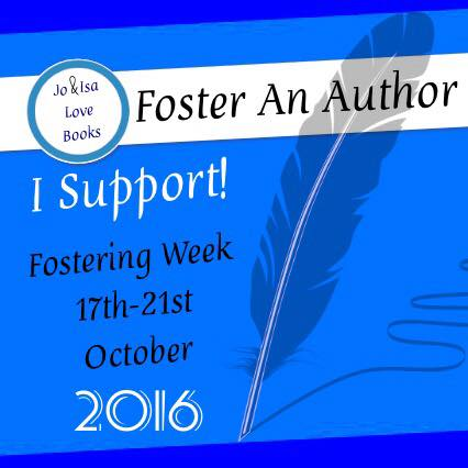 Logo for 2016 Foster An Author Campaign