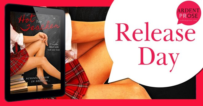 Release Banner for the Hot For Teacher Boxed Set