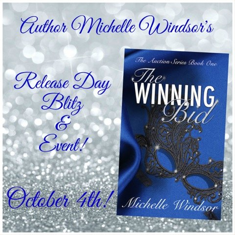 Promo Banner for The Winning Bid, by MIchelle Windsor, Release Day Sale
