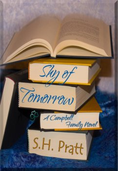 Book Cover, Shy of Tomorrow, by S. H. Pratt