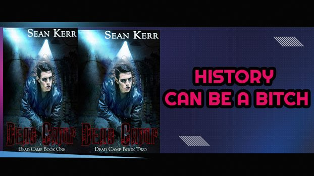 A Banner Ad promoting the Dead Camp Series by Sean Kerr