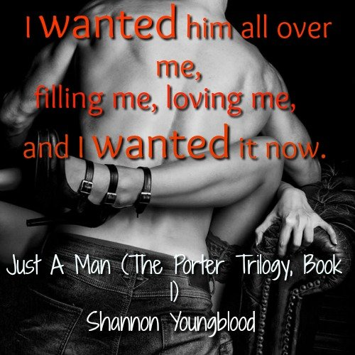 Photo Teaser for Just A Man, by Shannon Youngblood