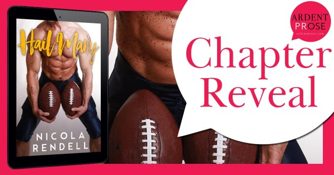 Chapter Reveal Banner for Hail Mary, by Nicola Rendell