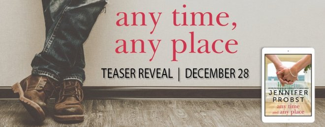 Any Time, Any Place Teaser Banner