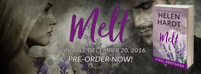Pre-Order Banner for Melt, by Helen Hardt