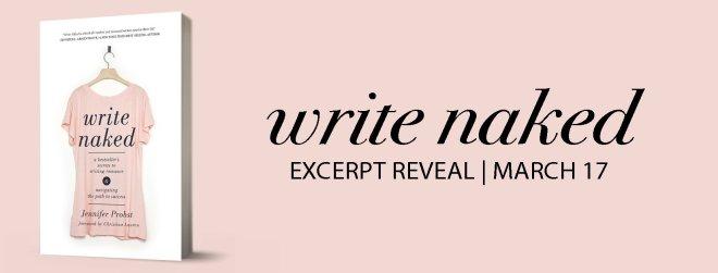 Banner Ad for Write Naked, by Jennifer Probst