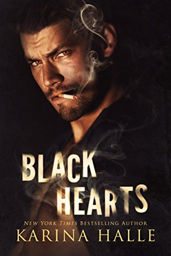 Book cover, Black Hearts