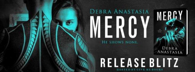 Release Banner for Mercy by Debra Anastasia