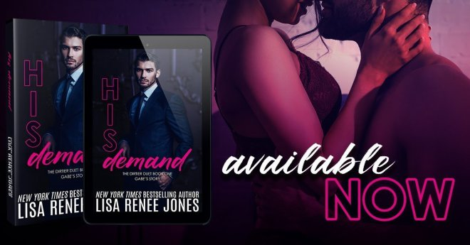 Photo Banner for His Demand by Lisa Renee Jones