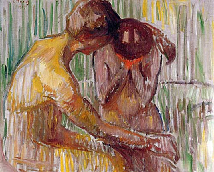 13 Synonyms for Contentment That Don t Mean the Same Thing at All     Edvard Munch   Comfort   Sometimes translated  Consolation