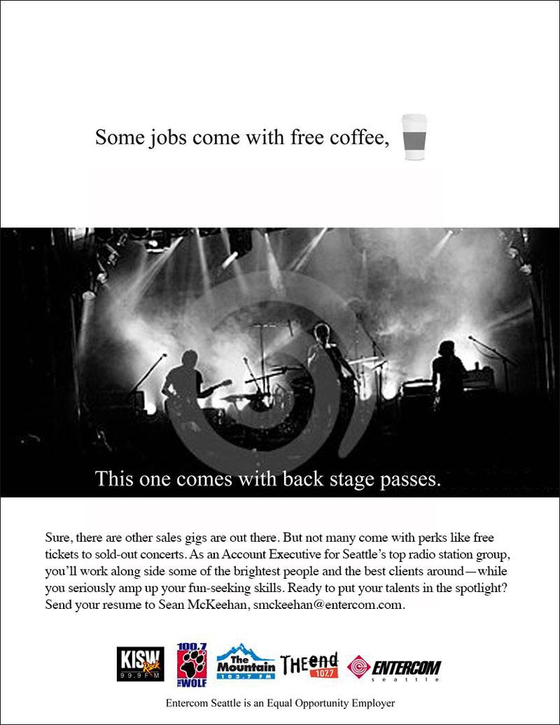 Entercom Corporation – Recruitment Ad