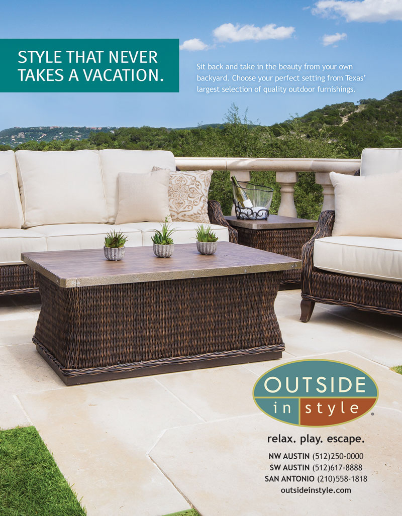Outside in Style - Magazine Ad