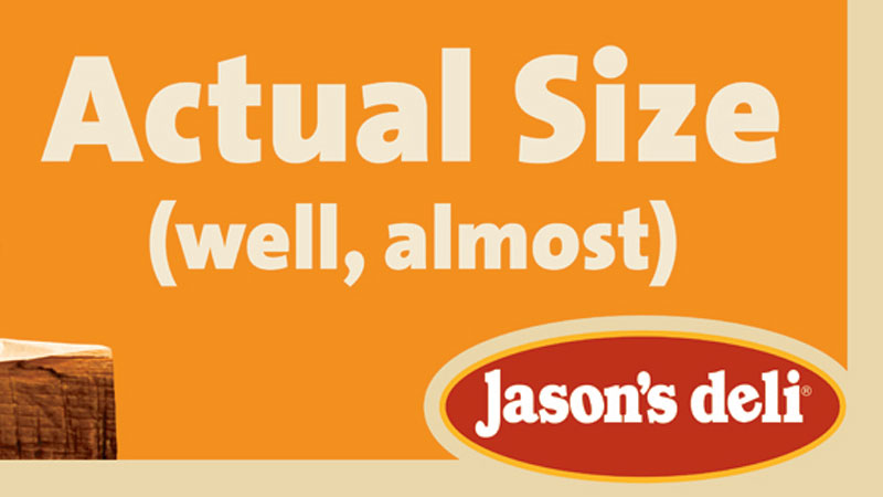 Jason's Deli Outdoor Board – Houston