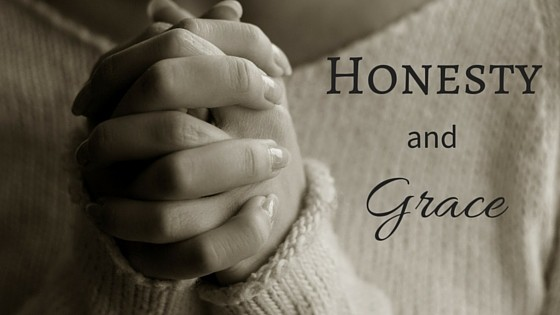 Honesty and grace title graphic