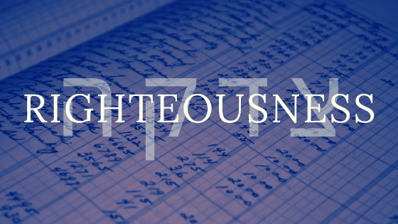 Righteousness title graphic