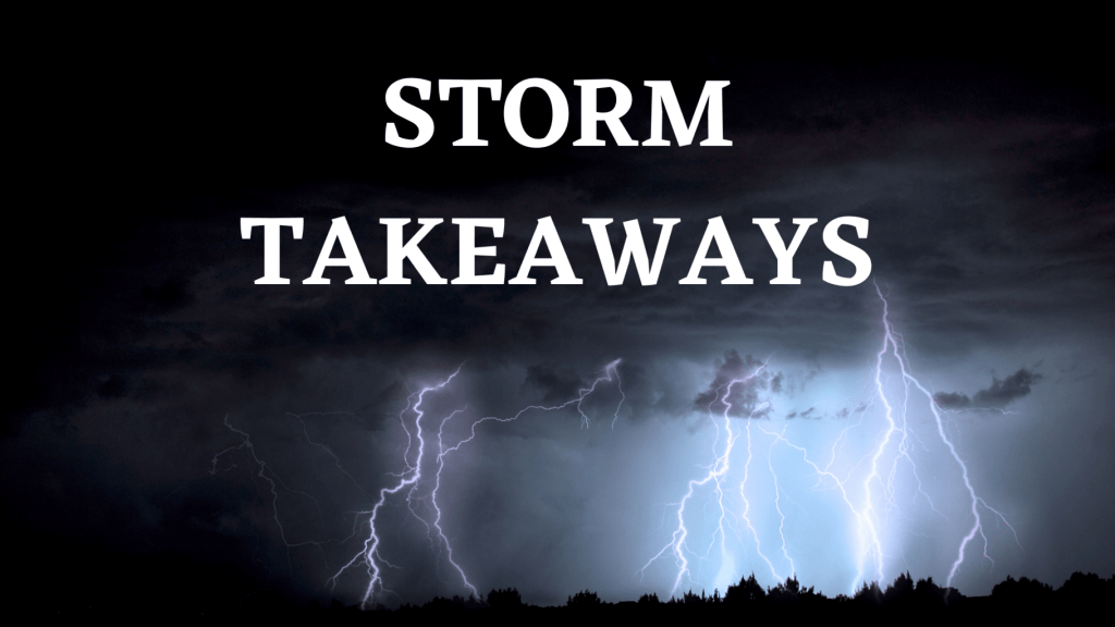 storm takeaways title graphic