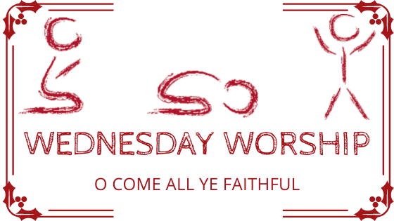 O Come All Ye Faithful title graphic
