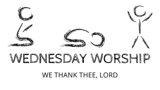 We Thank Thee Lord title graphic