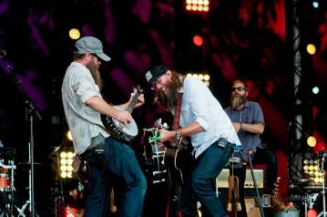 David Crowder at the Together 2016 gathering on the National Mall in Washington, D.C.