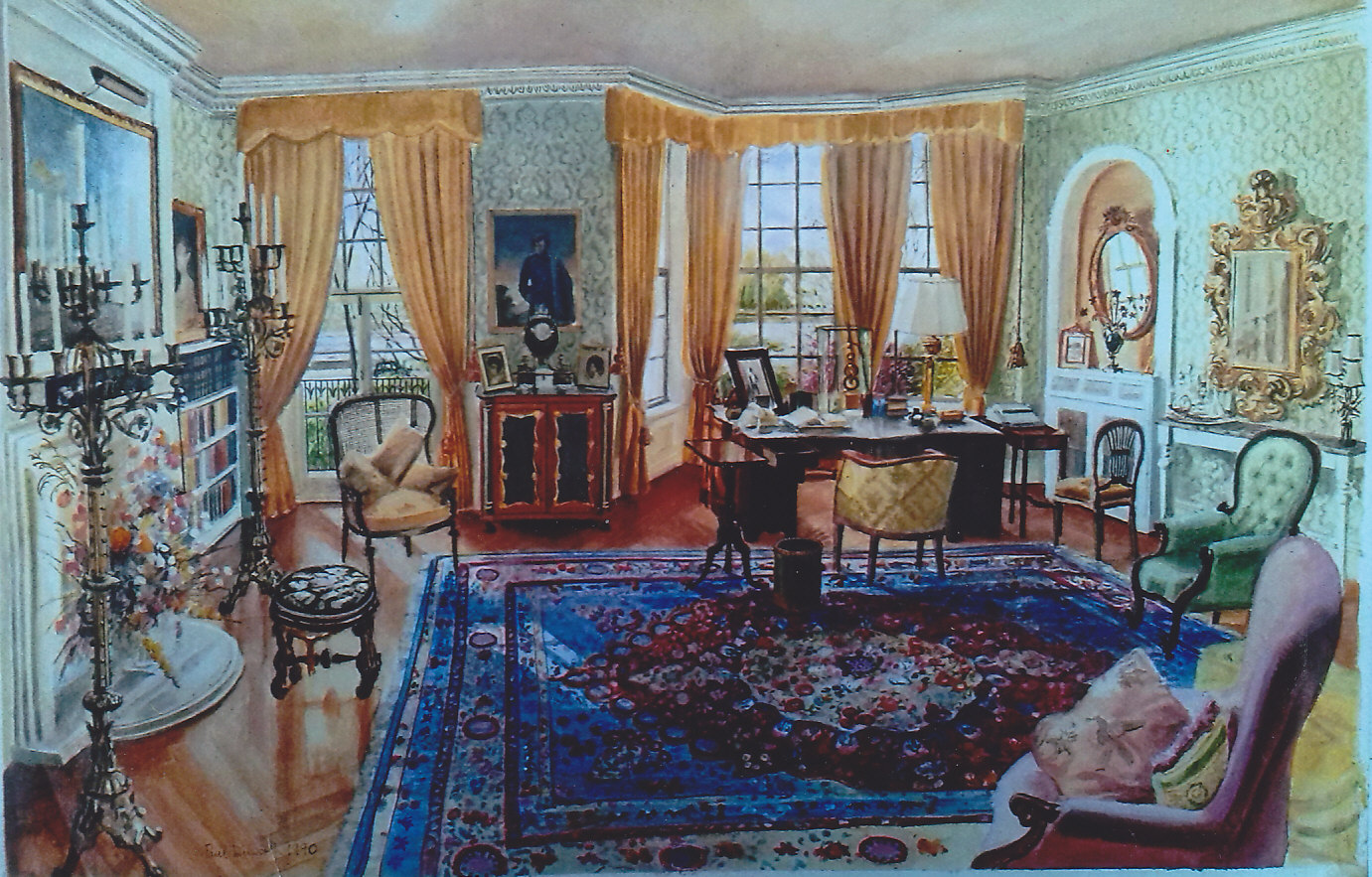 Cheyne Walk drawing room