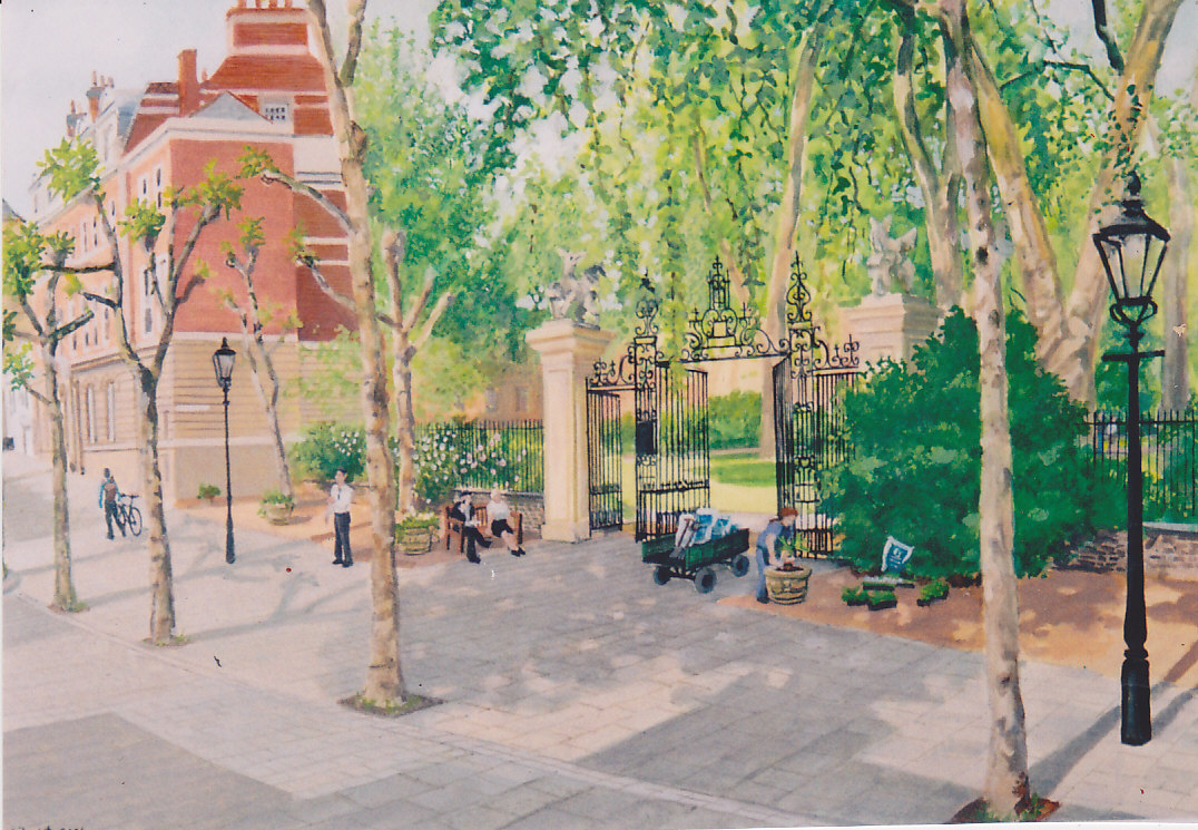 Grays Inn garden gate_0002